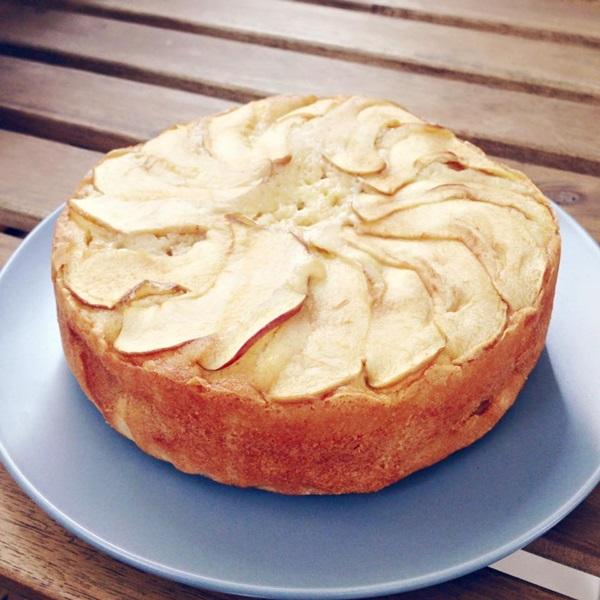 奶油蘋果磅蛋糕