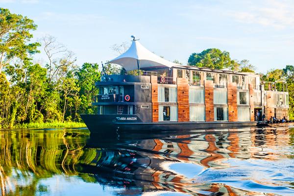 07【易遊網】水上移動城堡-亞馬遜河輪 Aria Amazon