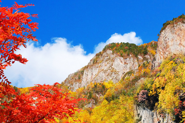 1北海道-層雲峽