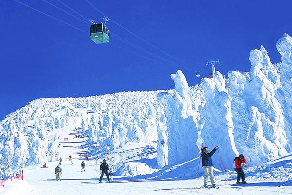 6 藏王滑雪
