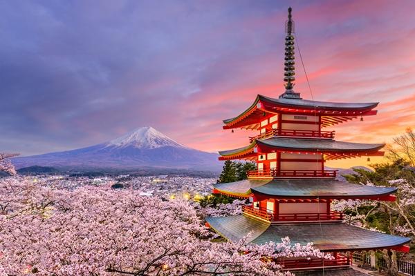 shutterstock_625757552_富士忠靈塔_可從東京新宿過去