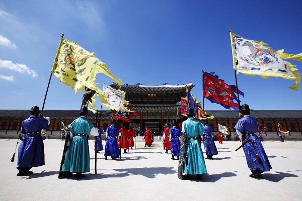 景福宮 守衛交接儀式 (4)
