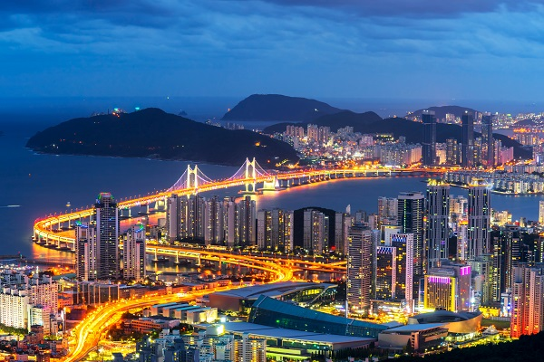 1-Busan, South Korea